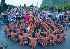 Kecak dance Royalty Free Stock Photo