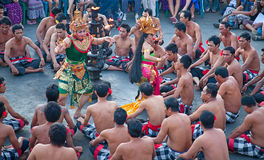 Kecak dance Royalty Free Stock Image