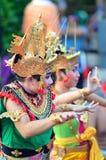 The Kecak Fire Dance at Uluwatu Temple, Bali, Indonesia Stock Photography