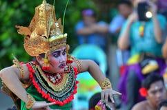 The Kecak Fire Dance at Uluwatu Temple, Bali, Indonesia Royalty Free Stock Image