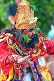 The Kecak Fire Dance at Uluwatu Temple, Bali, Indonesia Stock Images