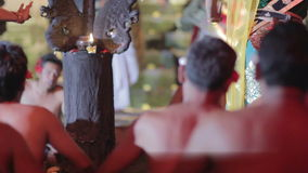 kecak Tanzleistung, Bali, Indonesien stock video footage