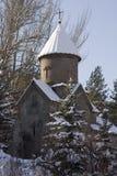 Kecharis kloster i Tsakhkadzor, Armenien Royaltyfri Fotografi