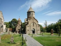Kecharis Monastery in Kotayk, Armenia Royalty Free Stock Photo