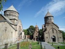 Kecharis Monastery in Kotayk, Armenia Royalty Free Stock Image