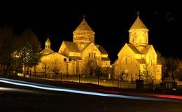 Kecharisklooster, Armenië Stock Foto's