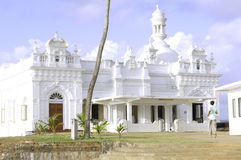 Kechimalai Mosque in Beruwala. Kechimalai Mosque  in  Beruwala.One of the oldest mosques in Sri Lanka. It is believed to be the site where the first Arab Muslims Royalty Free Stock Images
