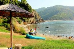 Kechria beach, Skiathos, Greece. Stock Photography