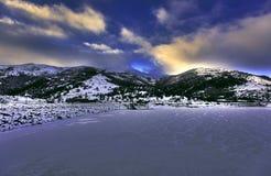 Kechut reservoir, Armenia Stock Photo