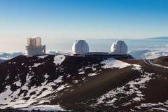 Keck望远镜 库存图片