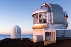 Keck observatorium Royaltyfri Bild