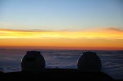 Keck observatorium Arkivbild