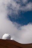 Keck se telescopa, Mauna Kea, isla grande, Hawaii Fotografía de archivo