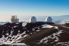 Keck Telescope Stock Image