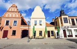 Kedainiai market square royalty free stock photos