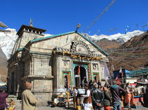 Kedar Nath Temple. Royalty Free Stock Photo