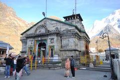 Kedar Nath Temple. Royaltyfri Bild