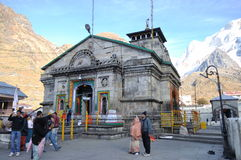 Kedar Nath Temple. Royalty Free Stock Image