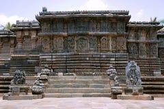 Kedareshwara Temple, Halebid, Karnataka. View from the North. Kedareshwara Temple, Halebid, Karnataka, India View from the North stock image