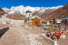 Kedarnath στην Ινδία στοκ εικόνες