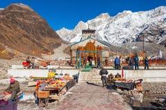 Kedarnath dans l'Inde Photos stock