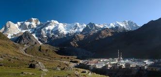 Kedarnath, estado de Uttarakhand, la India Foto de archivo libre de regalías