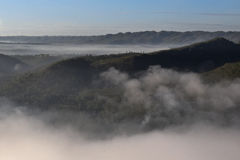 KEDIWUNG mgły przyjęcie YOGYAKARTA Obrazy Royalty Free