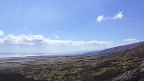 Kedja av kratervägen Royaltyfri Foto