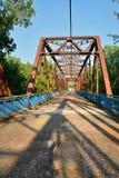 Kedja av Rocks bron på Mississippiet River Royaltyfria Foton