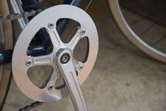 Kedja och kugghjul av cykeln Royaltyfria Foton