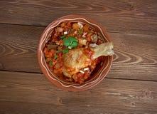 Kedjenou poulet Royalty Free Stock Photo