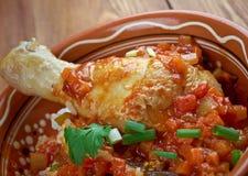 Kedjenou poulet Royalty Free Stock Image