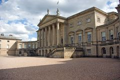 Kedleston Hall. Front view of Kedleston Hall built in the 1760's as a show house to rival Chatsworth house in Derbyshire England Stock Photo