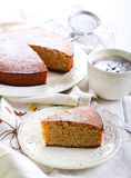 Kedleston orange marmalade cake Royalty Free Stock Photo