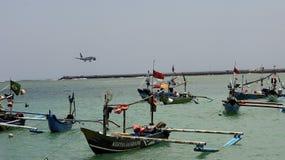 Kedonganan strand, BALI, INDONESIEN, Asien Fotografering för Bildbyråer