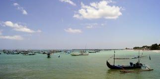 Kedonganan strand, BALI, INDONESIEN, Asien Royaltyfri Foto