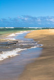 Kee Beach in Haena State Park, Kauai Stock Images