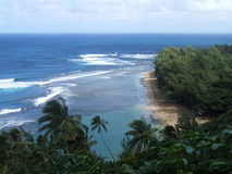 Kee Bech, Kauai, Hawaii Stock Photos