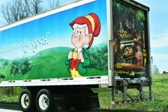 Keebler Semi ciężarówka zdjęcia stock