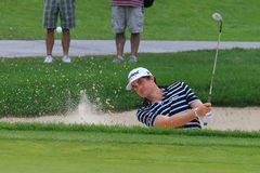 Keegan Bradley in the bunker Stock Photography
