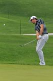 Keegan Bradley on the course Stock Image