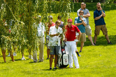 Keegan Bradley at the Memorial Tournament Stock Photography