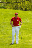 Keegan Bradley at the Memorial Tournament Royalty Free Stock Photos