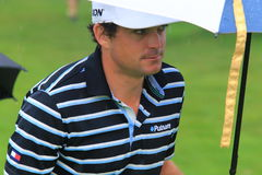 Keegan Bradley at tournement Royalty Free Stock Photos