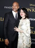 Keegan-Michael Key, Elisa Pugliese royalty free stock image