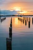 Keehi Harbor Sunset Royalty Free Stock Images