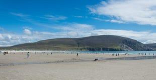 Keel Beach, Achill-Insel, Irland Lizenzfreie Stockfotos