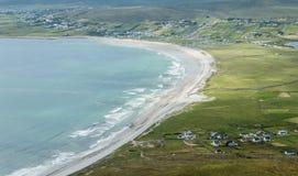 Keel Beach, Achill-Insel, Irland Lizenzfreies Stockfoto