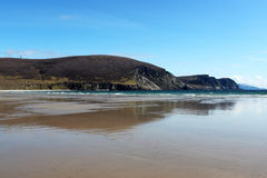 Keel Beach, Achill Island, Ireland. Keel beach in Achill Island, County Mayo, Ireland Royalty Free Stock Images