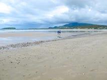 Keel Beach, Achill, Mayo, Irland stockfoto